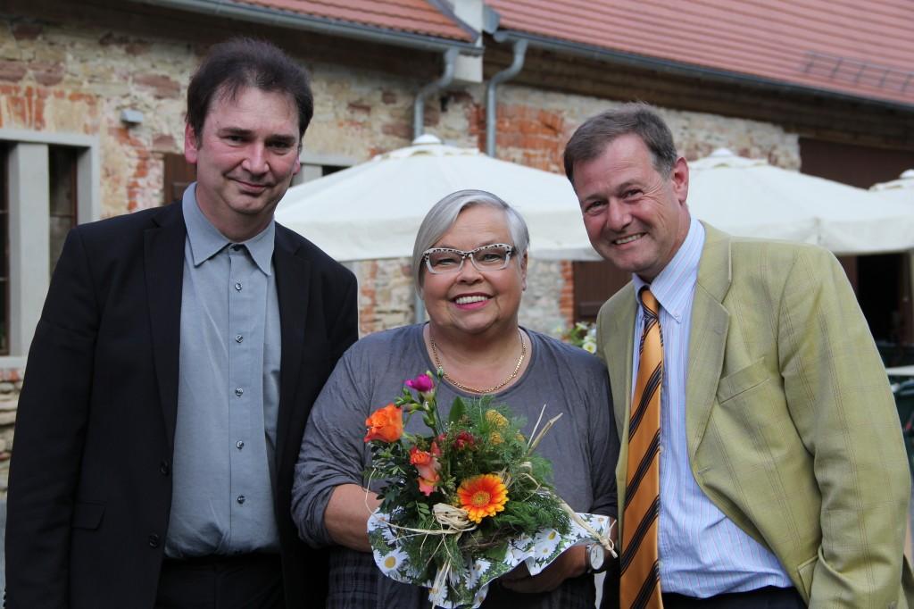 Uwe Lewin, Eva-Maria Fastenau, Ralf Spies (v.l.) Foto: Susanne Russe